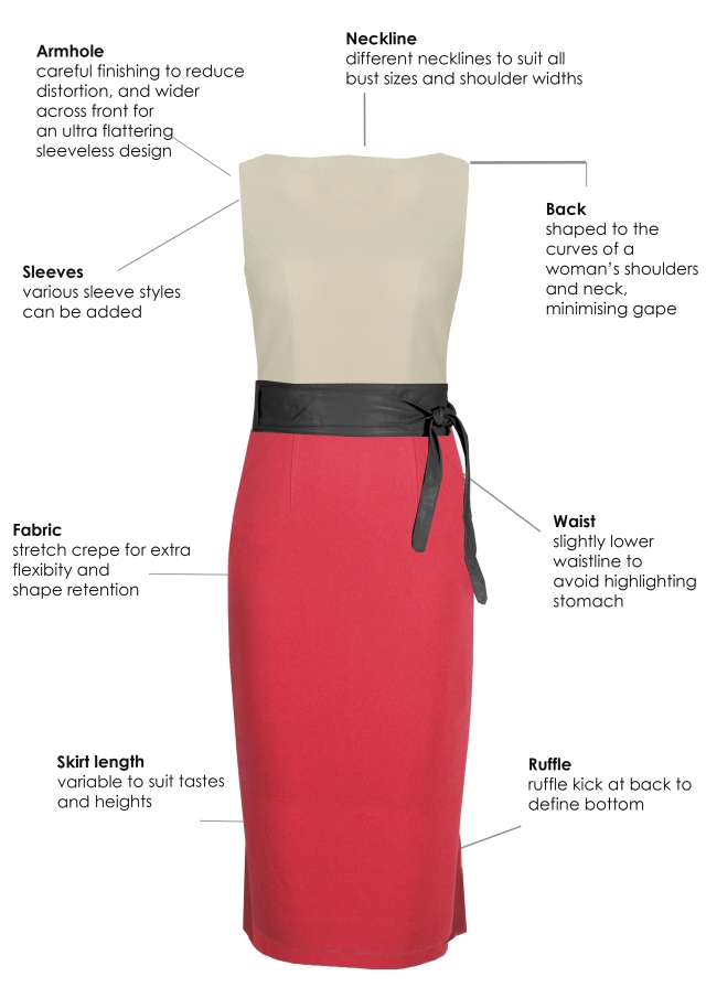 Why beautifully tailored AURZA dresses make you feel FABULOUS!